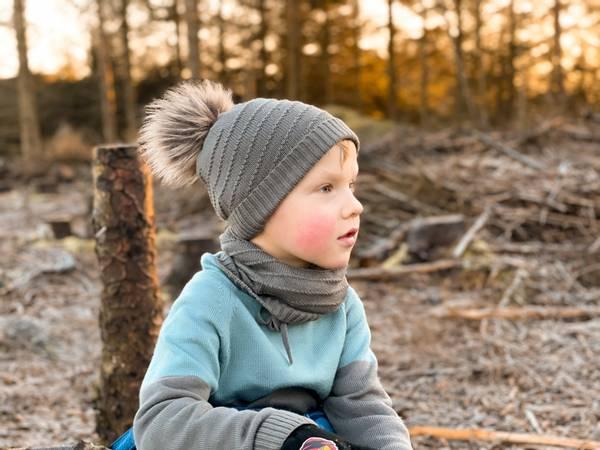 Bilde av Buff Gromark i merinoull, brun